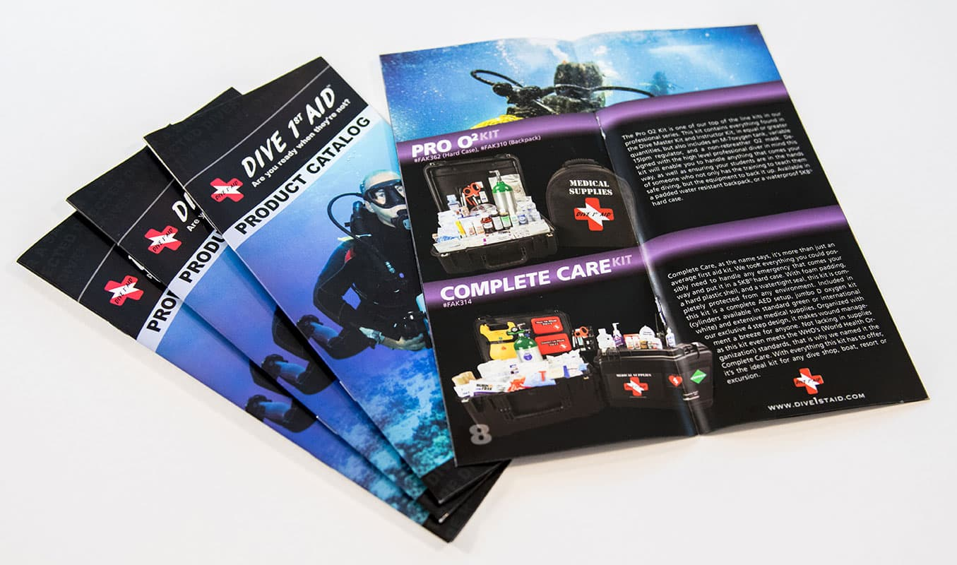 dive 1st aid product catalog