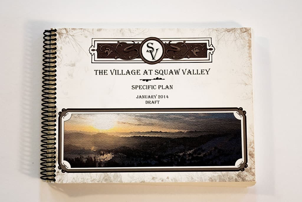 The village at squaw valley specific plan